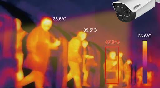Lutte contre le Covid 19 : les caméras thermiques